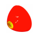 CONEHEAD -Fluo Red-LG