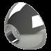 PREDATOR CONE-Ø12mm-Silver
