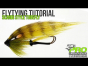 Scandi style tube fly tying tutorial