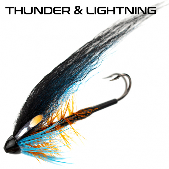 Simple Thunder and lightning tubefly